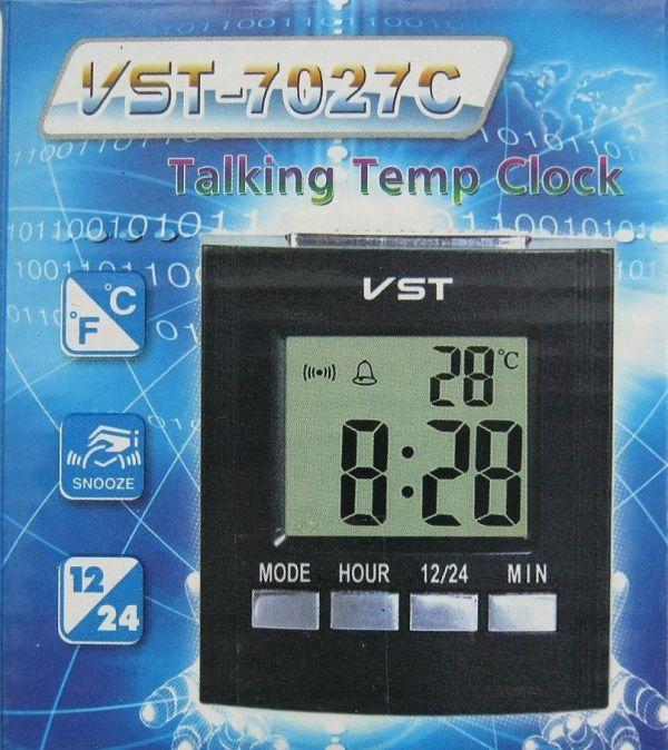 Годинник настільний VST VST-7027C