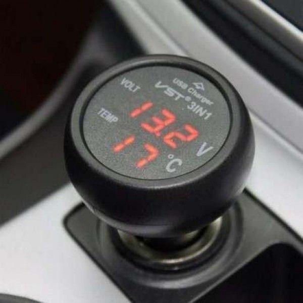 Термометр вольтметр VST 706-1 + USB